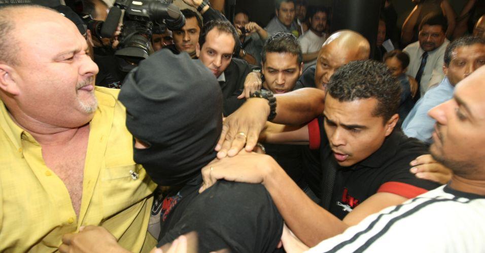 O ex-policial Marcos Aparecido dos Santos, conhecido também como