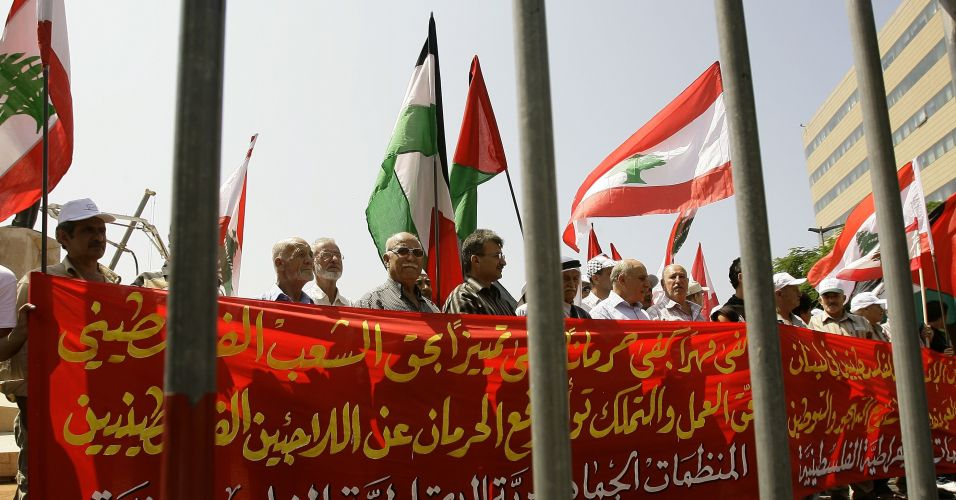 Protesto no Líbano