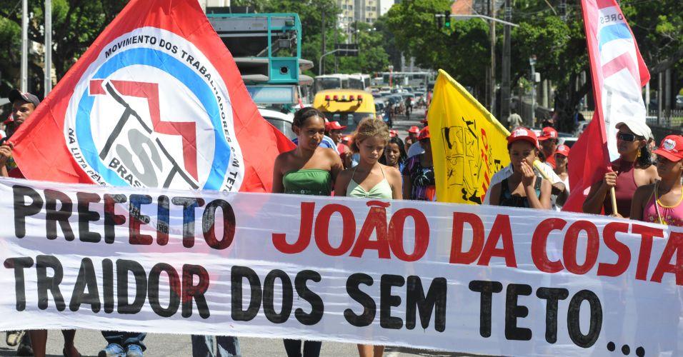 Sem-teto no Recife