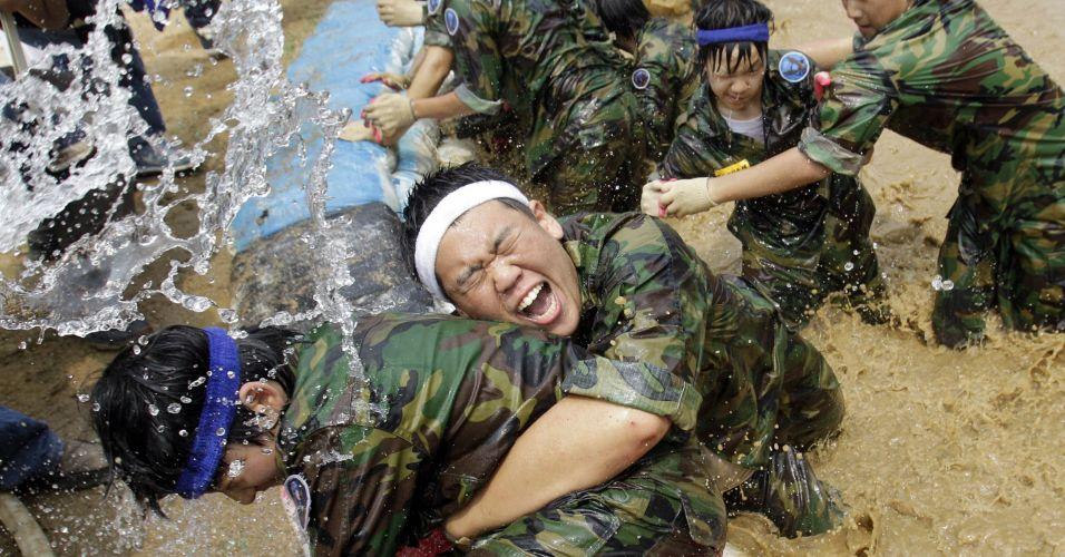 Treinamento na Coreia do Sul