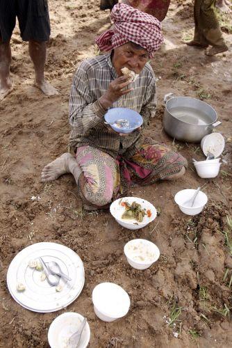 Mulher cambojana
