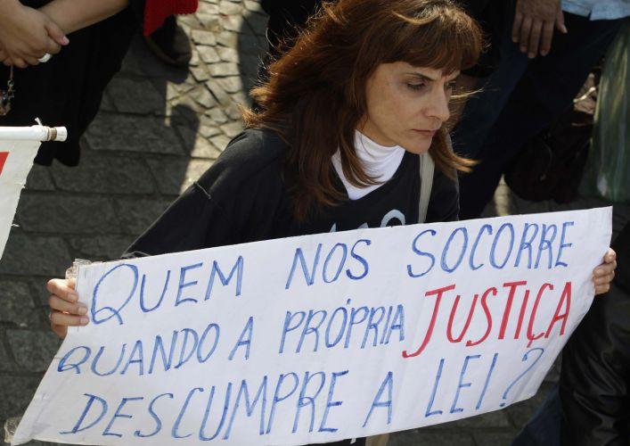 Protesto no TJ-SP