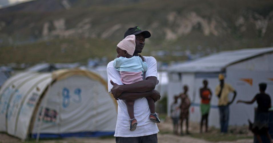 Tempestade no Haiti