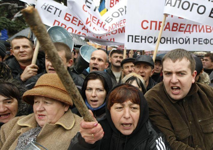 Protesto na Ucrânia