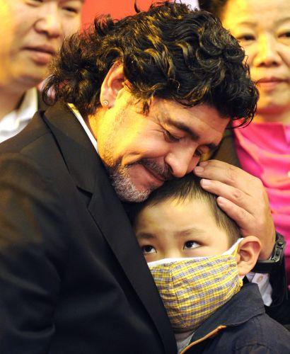 Maradona na China