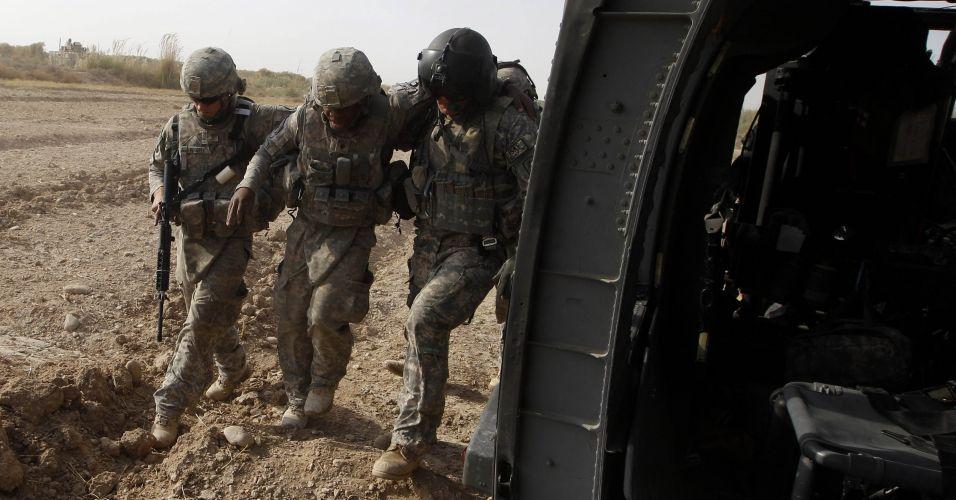 Soldado dos EUA ferido