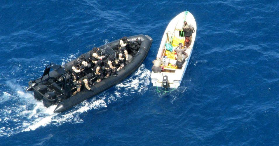 Embarcação de piratas