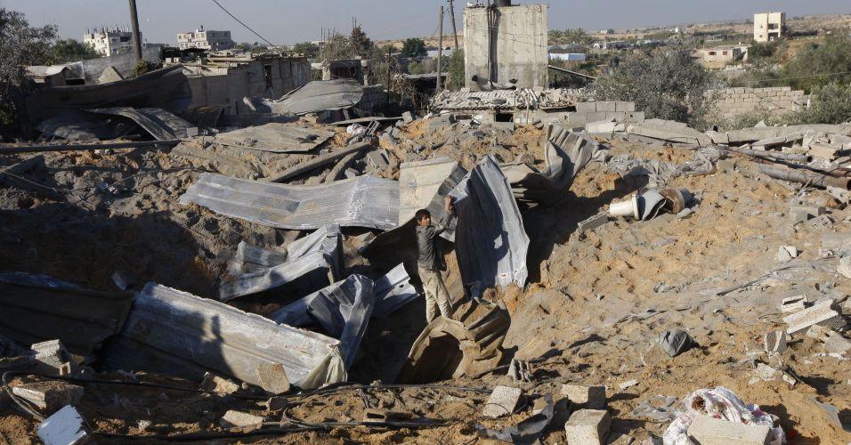 Ataque israelense em Gaza