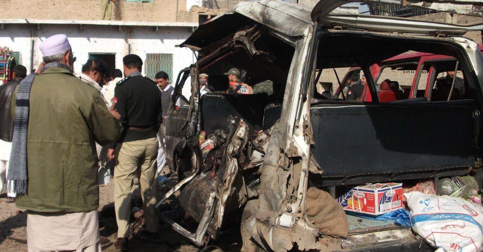 Atentado terrorista no Paquistão