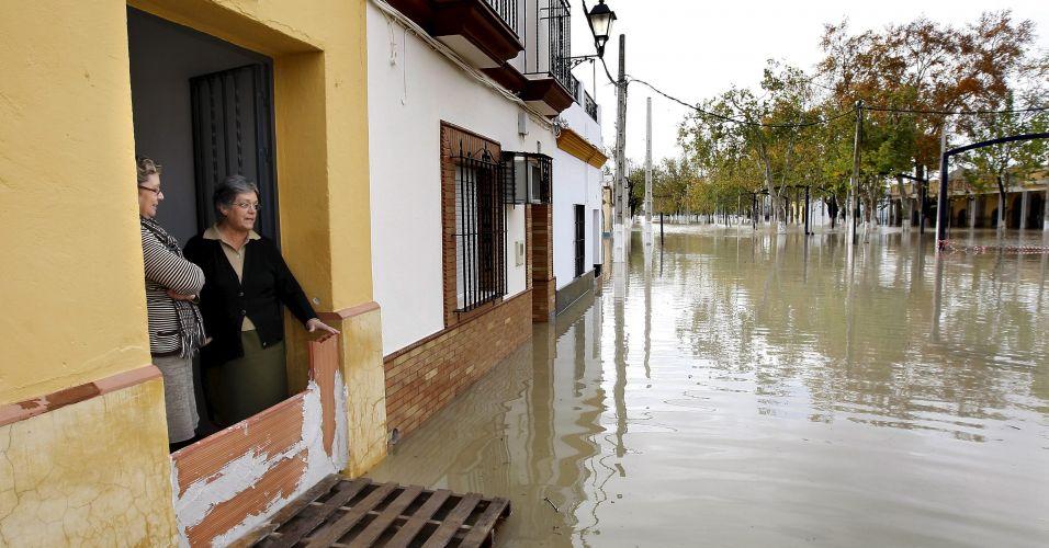 Enchente na Espanha