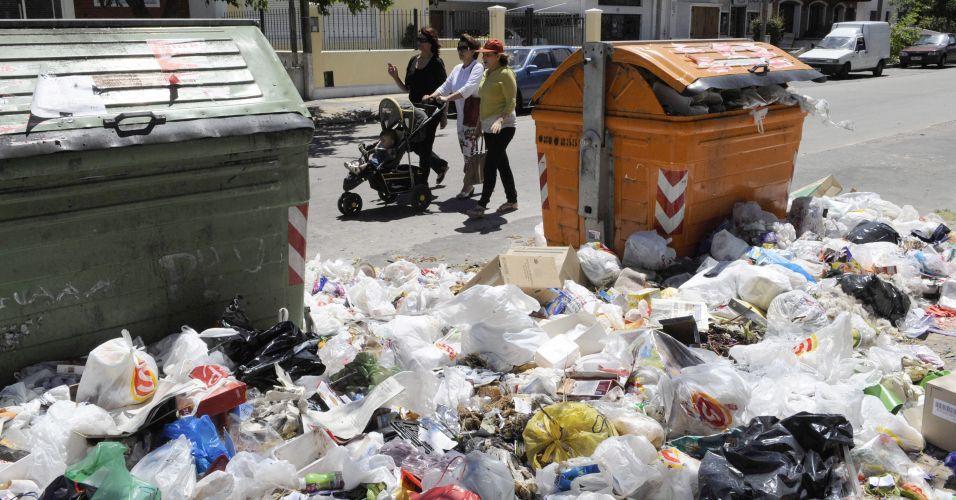 Lixo no Uruguai