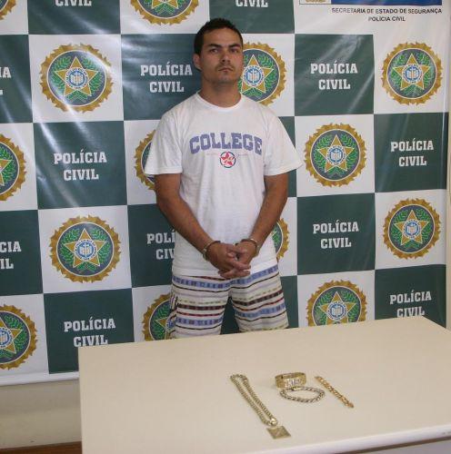 Traficante preso