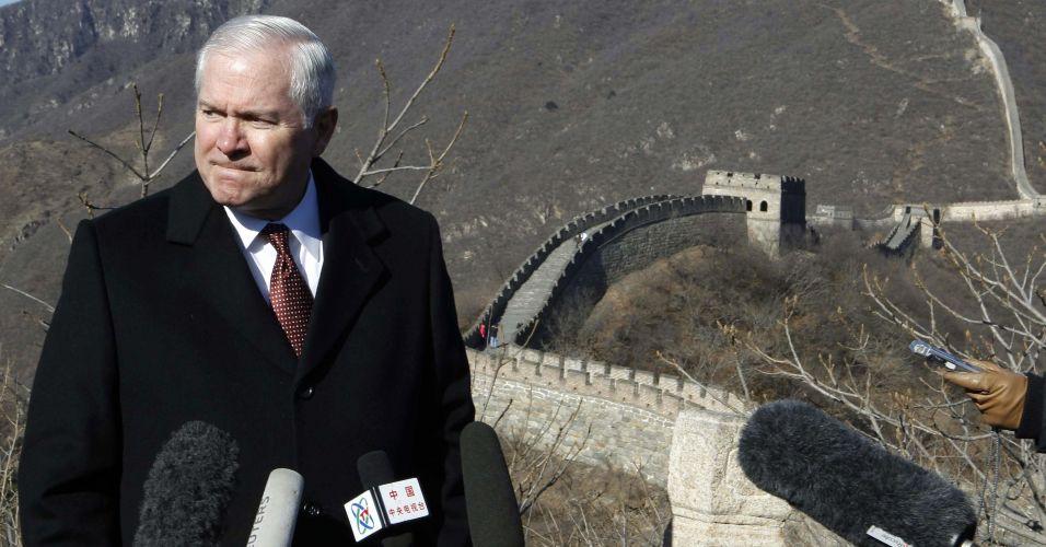 Secretário de Defesa dos EUA visita a China