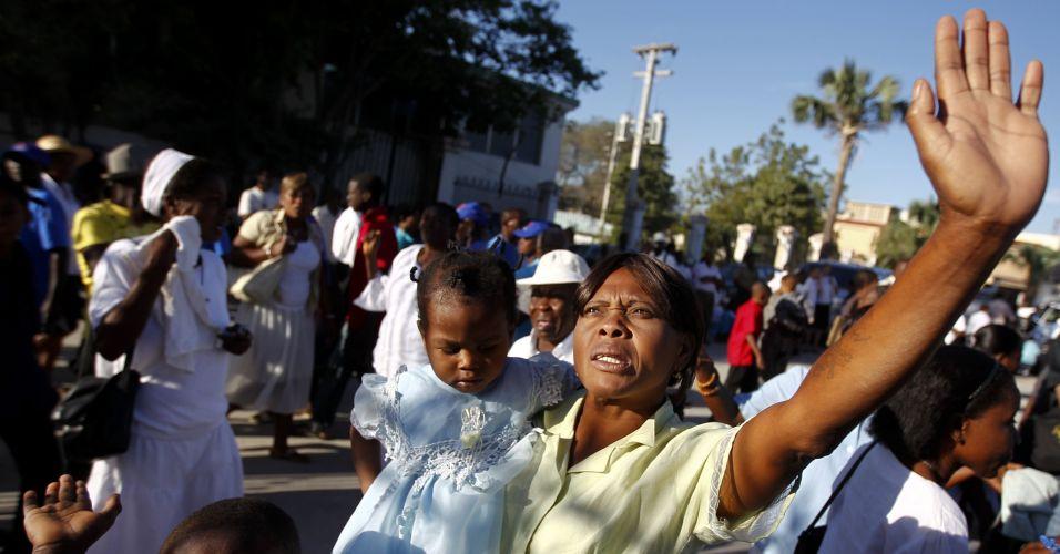 Haiti lembra vítimas de terremoto