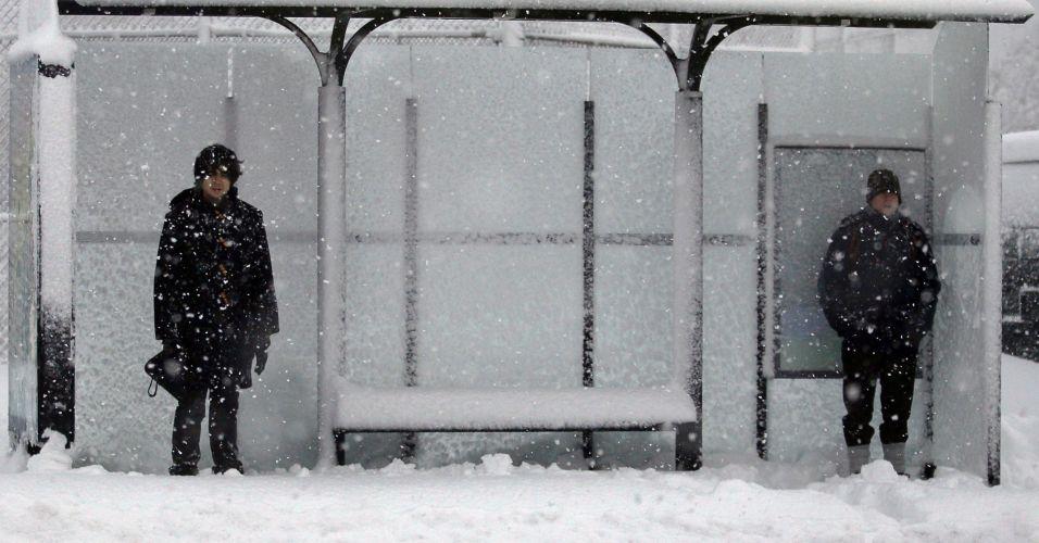 Nevasca nos EUA