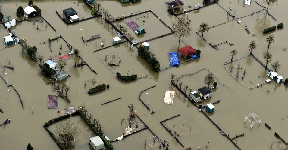 Inundações na Holanda