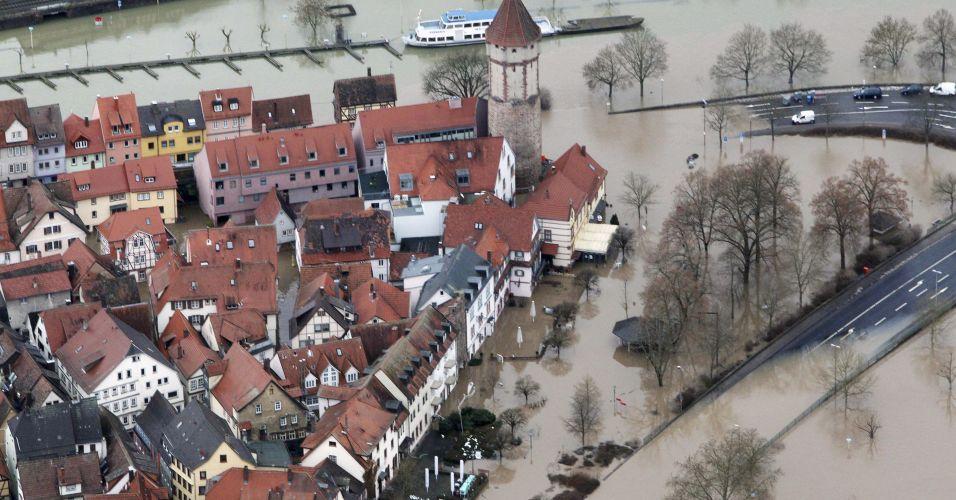 Inundações na Alemanha