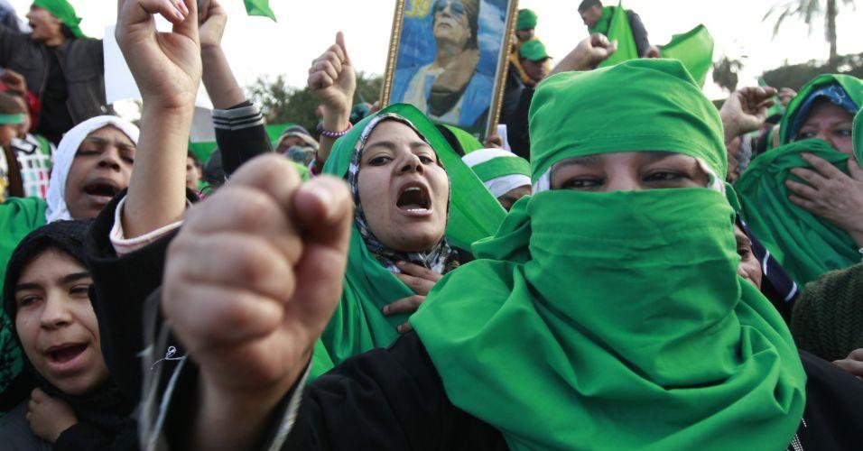 Protesto na Líbia