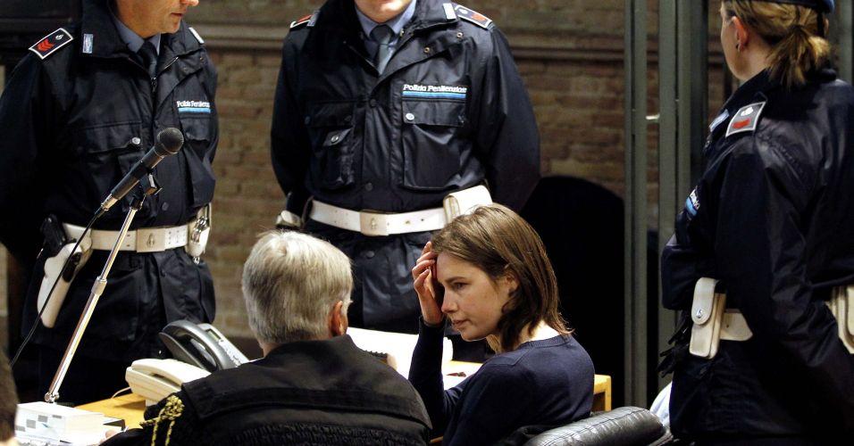 Estudante americana condenada na Itália