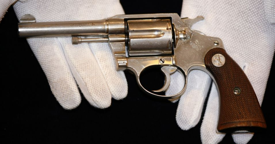 Revólver de Al Capone. | O Maior do Mundo