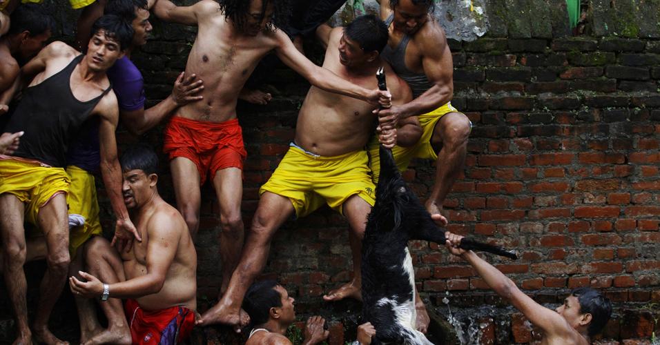 Festival em Katmandu