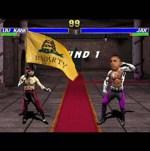 O JOGO Mortal KombatA REALIDADE Obama x crise e os republicanosA ADAPTAÇÃO