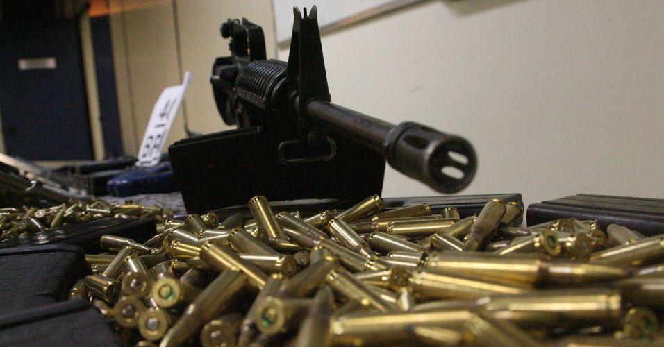 Apreensão de armas