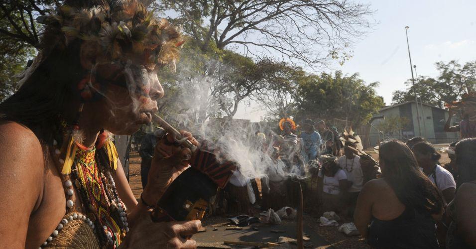 Índios em Brasília