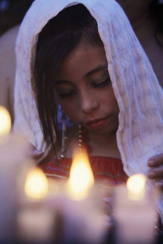 Dia da Virgem de Guadalupe em El Salvador