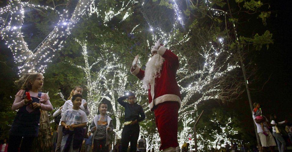 Papai Noel no Ibirapuera