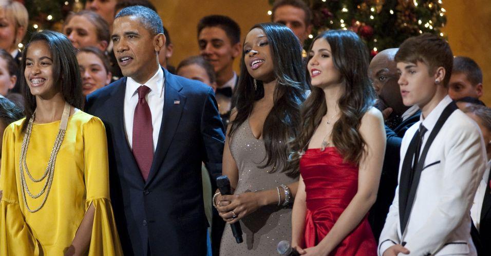 Obama e Justin Bieber