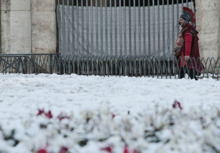 Neve na Itália