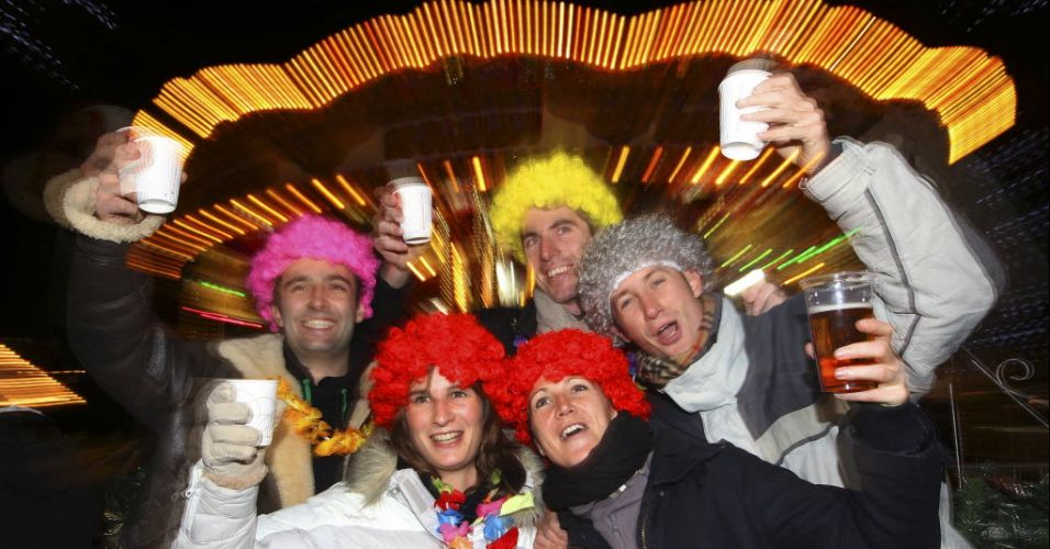 Festa de Ano-Novo na Escócia