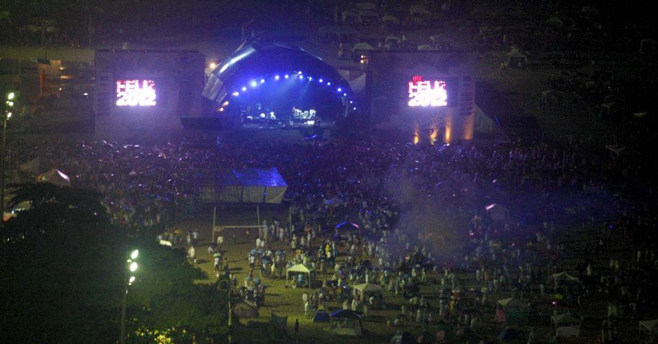Movimentação em Copacabana