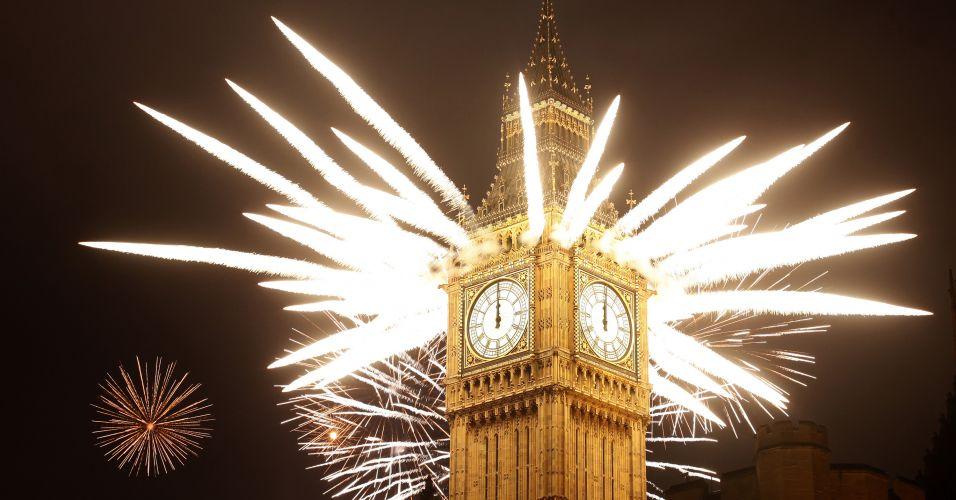 Fogos em Londres