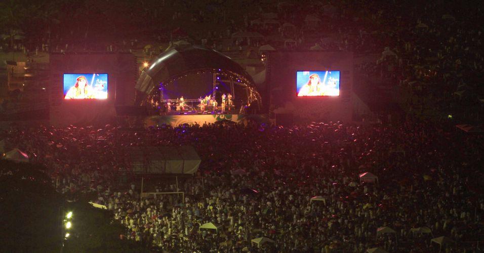 Show de Moraes Moreira em Copacabana