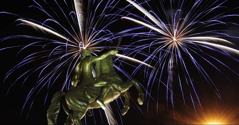 Ano Novo na Macedônia