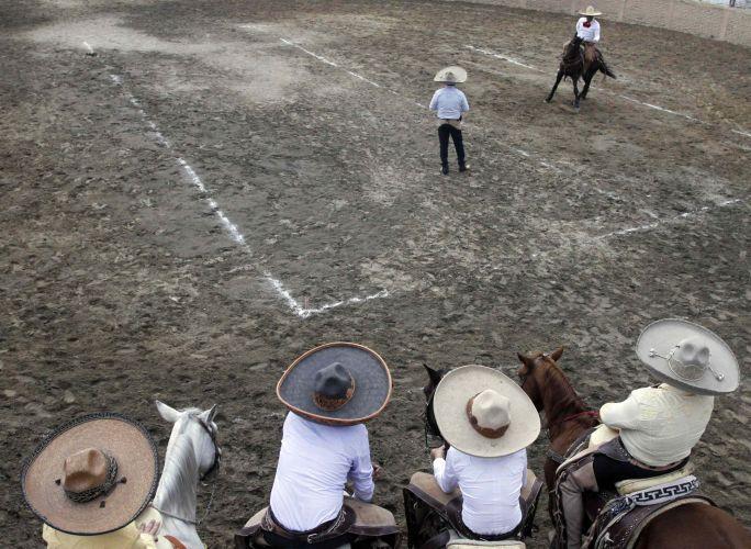 Competição de cavaleiros