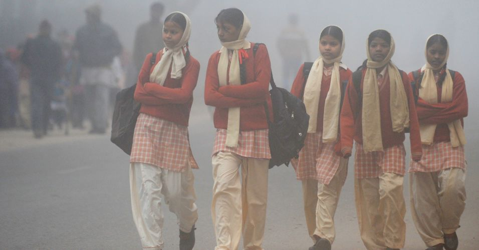 Frio na Índia