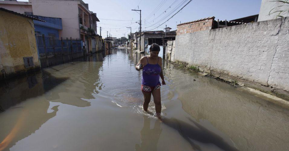 Enchente no Jd. Pantanal