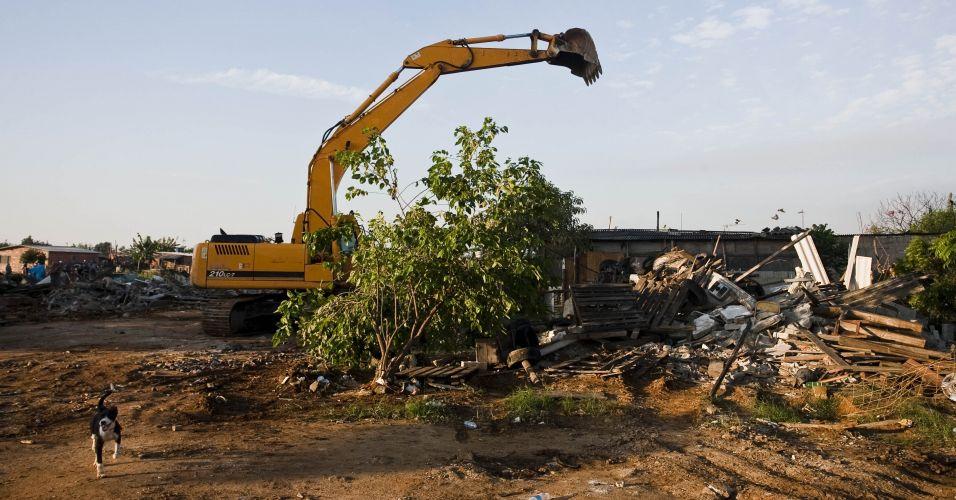 Demolição no Pinheirinho