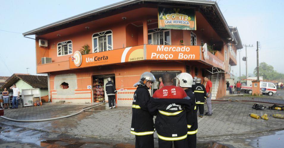 Incêndio em Joinville (SC)