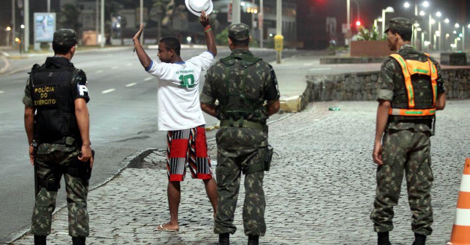 Greve de PMs em Salvador