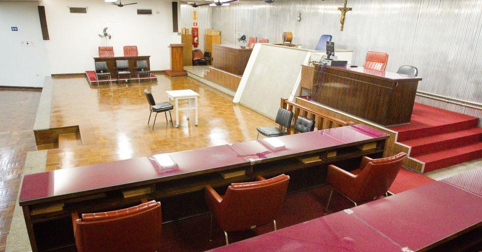Plenário do Júri do Fórum de Santo André