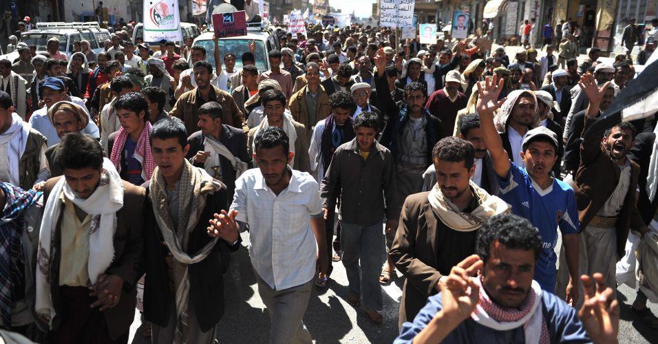 Iêmem pede paz na Síria