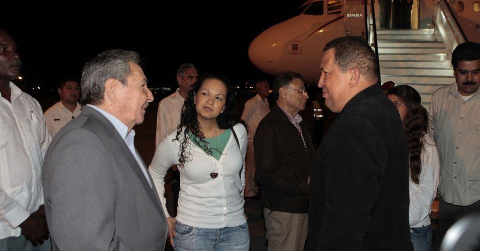 Hugo Chávez em Cuba