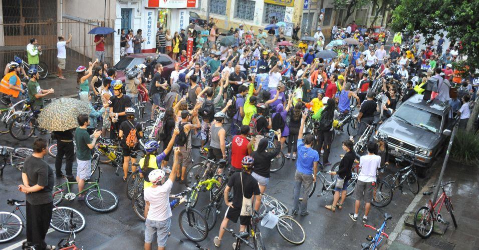 Ciclistas no RS