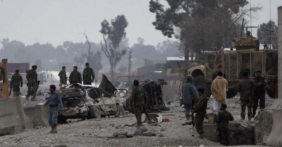 Atentado no Afeganistão