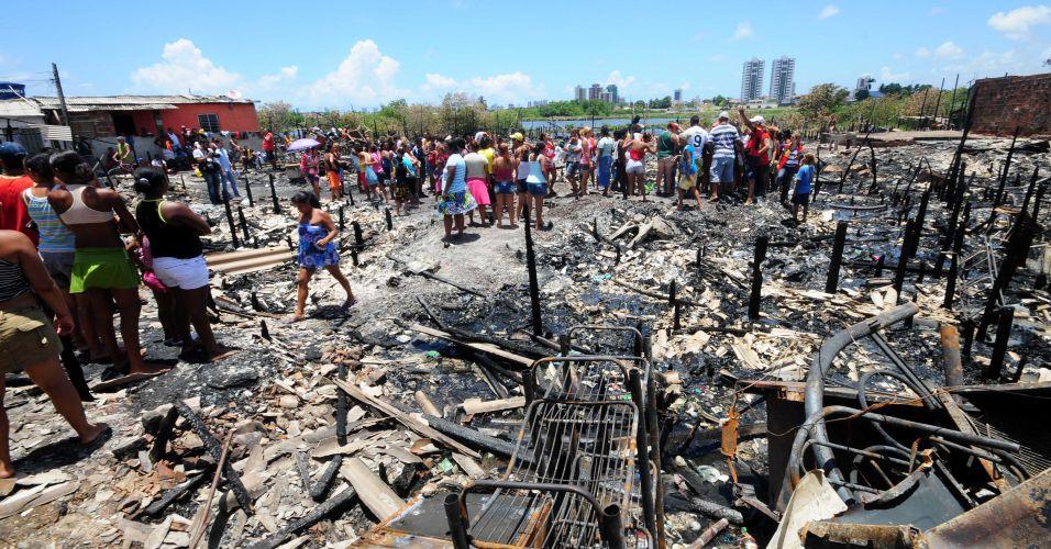 Incêndio em Recife (PE)