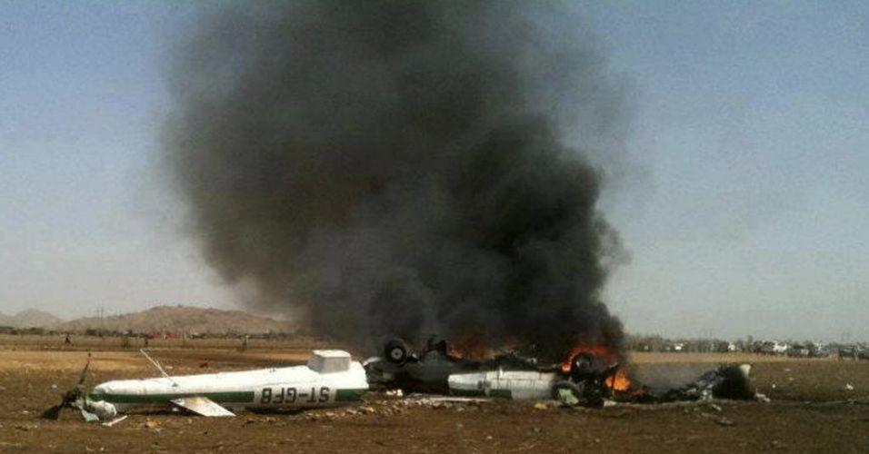 Queda de helicóptero (Sudão)